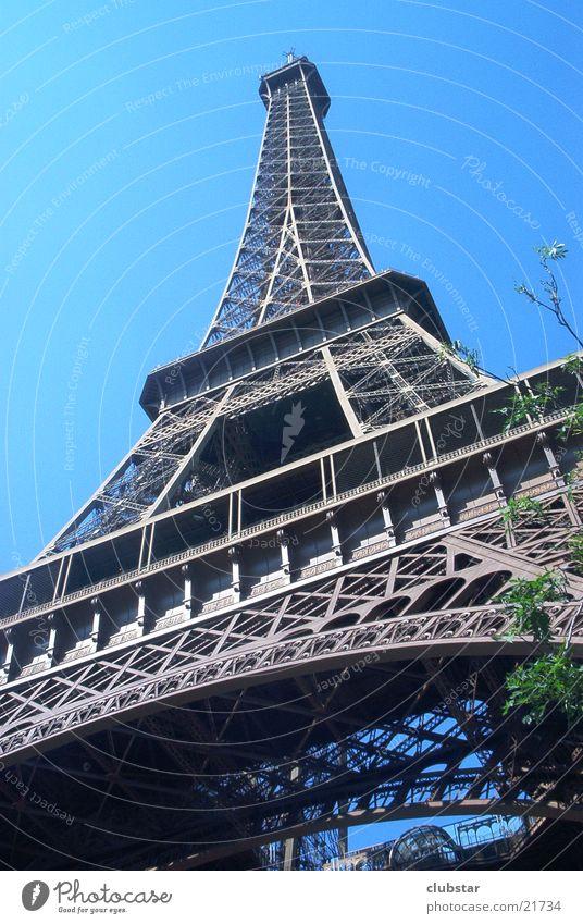 Eiffelturm Europa Paris Frankreich Tour d'Eiffel