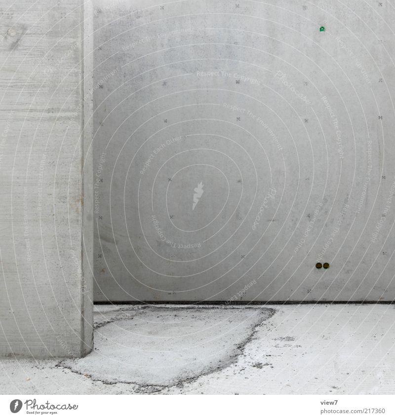 BETON Baustelle Mauer Wand Fassade Beton Linie bauen ästhetisch authentisch eckig einfach frisch modern grau Betonwand Fundament fertigteil fertighaus