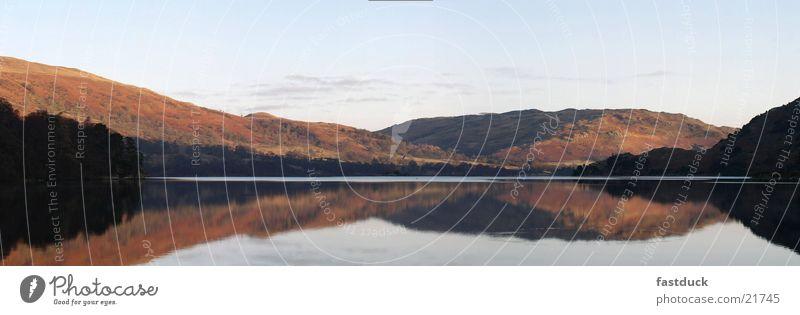 Ullswater morgens 8:10 Wasser Berge u. Gebirge See England Großbritannien Reflexion & Spiegelung Lake District National Park