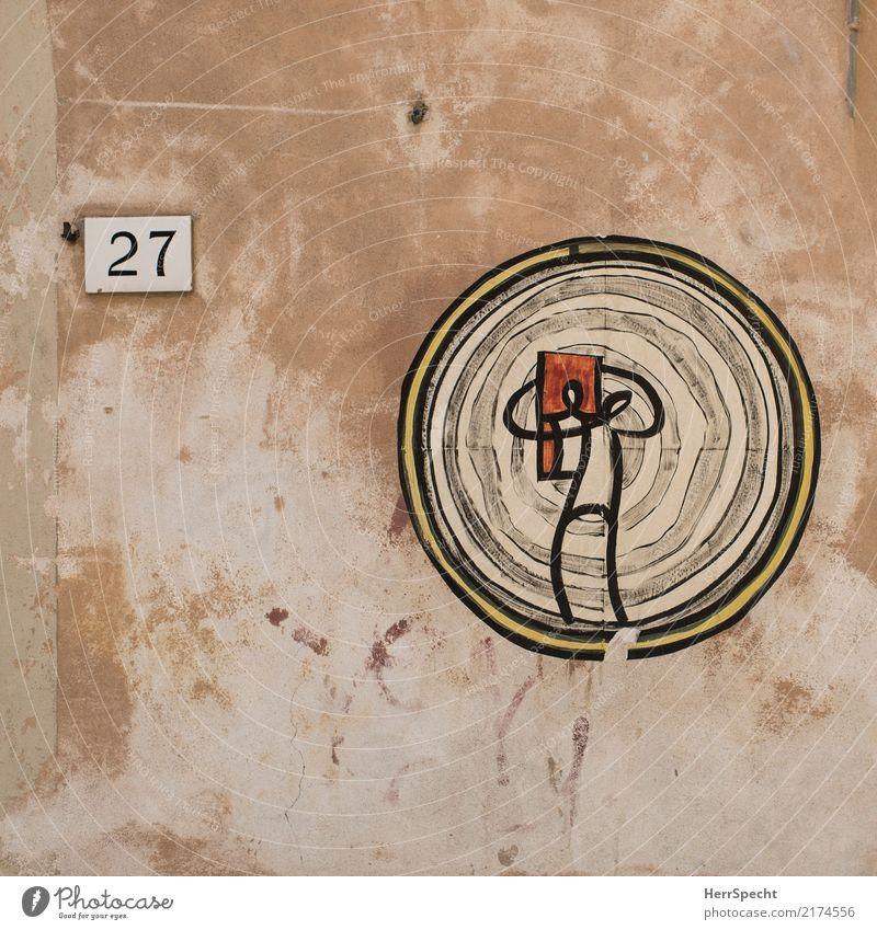Selbstportrait Altstadt Gebäude Mauer Wand Papier Sammlerstück Coolness Klebekunst Kunst Zielscheibe Zeichnung 27 Ziffern & Zahlen Spiegelbild Figur