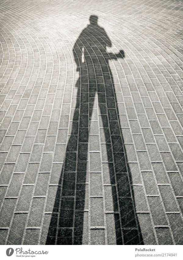 #A# Schattenmann Kunst ästhetisch Schattenspiel Schattenseite Schattenkind Schattendasein Fotograf Fotokamera Perspektive Farbfoto Gedeckte Farben Außenaufnahme