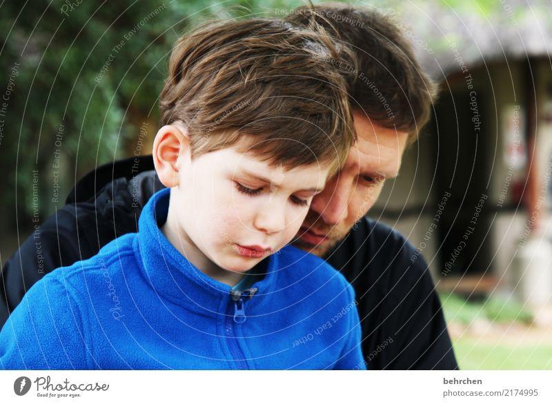 geduldig Ferien & Urlaub & Reisen Ausflug Abenteuer Ferne Freiheit Junge Mann Erwachsene Eltern Vater Familie & Verwandtschaft Kindheit Körper Haut Kopf