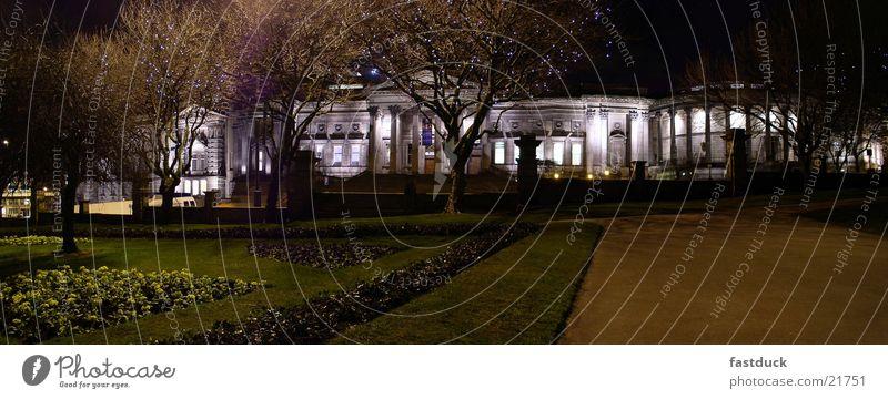 Liverpool Museum England Großbritannien Panorama (Aussicht) Nacht Langzeitbelichtung Architektur groß Panorama (Bildformat)