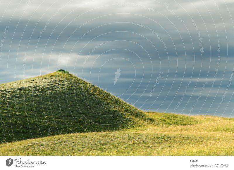 *900* Phantasie Umwelt Natur Landschaft Urelemente Erde Luft Himmel Wolken Wetter Schönes Wetter Gras Wiese Hügel ästhetisch außergewöhnlich schön blau grün