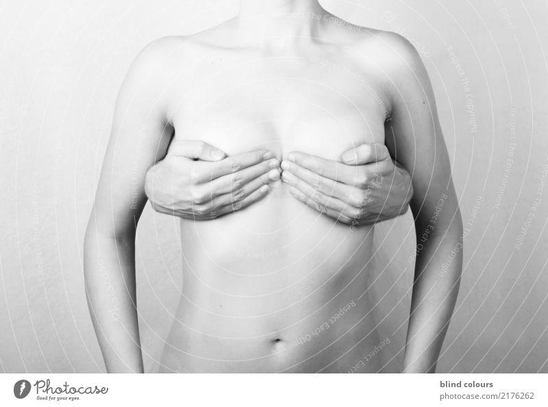 soutien-gorge minimiseur Jugendliche nackt Junge Frau Erotik Kunst Frauenbrust Körper ästhetisch Sex festhalten Kitsch Gemälde Kunstwerk Sinnesorgane Lust