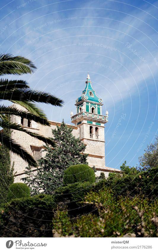 Turm mit Musik. Natur Umwelt Garten Kitsch Valldemossa