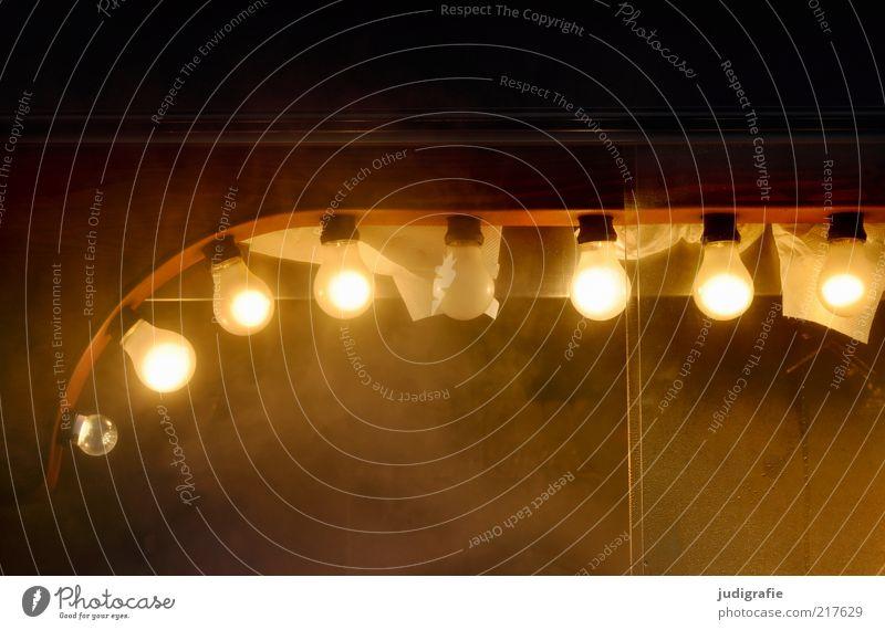 Heiße Küche Glühbirne Stimmung Wasserdampf Weihnachtsmarkt Lampe leuchten Beleuchtung Reihe Farbfoto Außenaufnahme Kunstlicht Licht Detailaufnahme