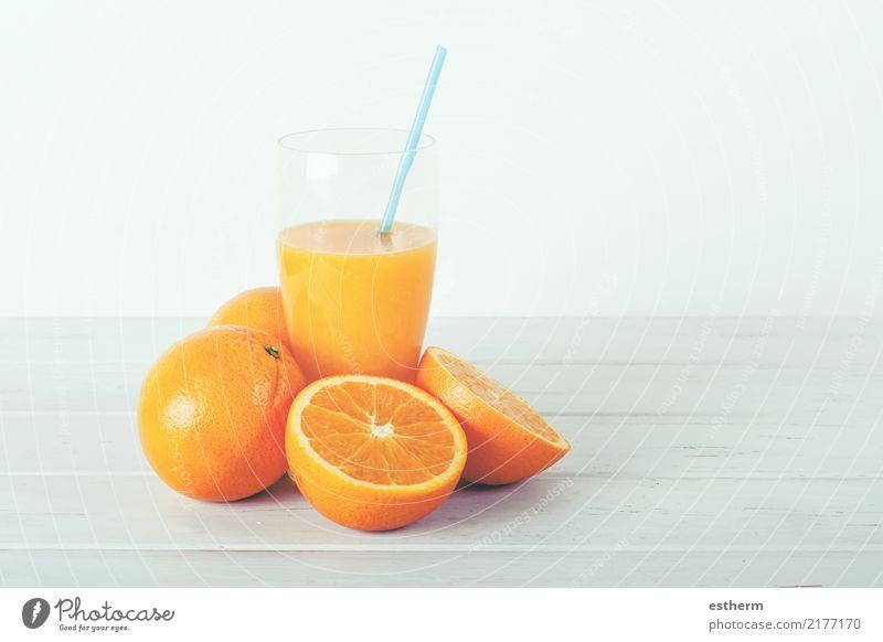 Orangensaft alt Freude Lifestyle Gesundheit Lebensmittel Ernährung süß Küche Getränk Wellness trinken Bioprodukte Frühstück Dessert Appetit & Hunger Fressen