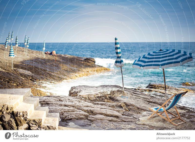 Summer Stilllife 2 Farbfoto Außenaufnahme Tag Menschenleer Ferien & Urlaub & Reisen Ausflug Freiheit Sommer Sommerurlaub Sonnenbad Strand Meer Wellen