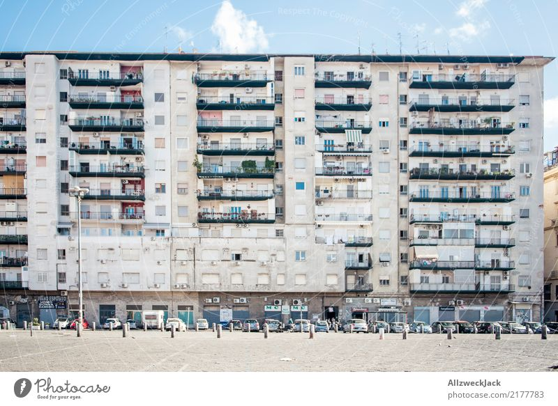 Die Straßen von Neapel 13 Ferien & Urlaub & Reisen Sommer Stadt Haus Architektur Gebäude Fassade Schönes Wetter Italien Sommerurlaub Wohnhaus Städtereise