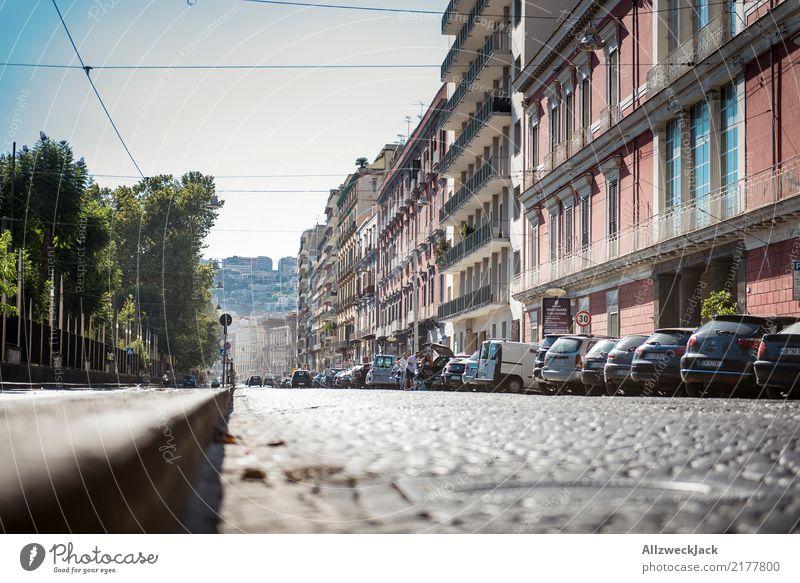 Die Straßen von Neapel 9 Ferien & Urlaub & Reisen Sommer Stadt Haus Lifestyle Fassade Schönes Wetter Italien Sommerurlaub Altstadt Stadtzentrum Wohnhaus