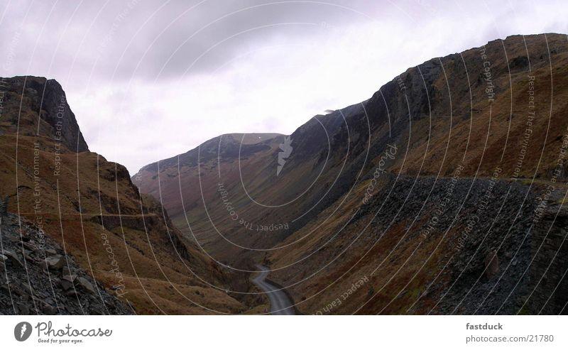 englische Alpen Berge u. Gebirge groß England Großbritannien Lake District National Park