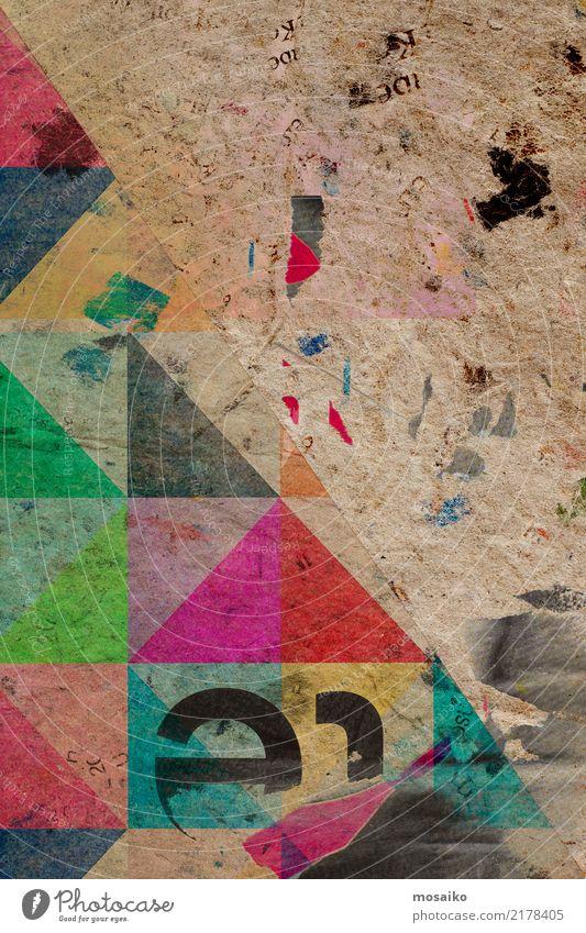 Lifestyle Stil Kunst grau braun rosa Design retro dreckig Dekoration & Verzierung Idee Geschenk Fotografie Papier Postkarte Inspiration