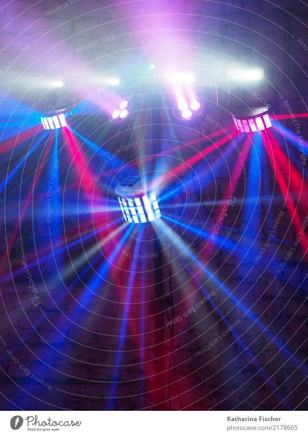 Flashlights blau weiß rot schwarz Lampe Party Feste & Feiern rosa leuchten violett Veranstaltung türkis Bar Club Disco Scheinwerfer