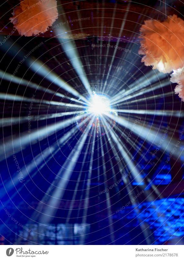 Flashlight II blau weiß schwarz Party Feste & Feiern rosa orange leuchten fantastisch groß Veranstaltung Bar Club Disco Nachtleben Entertainment