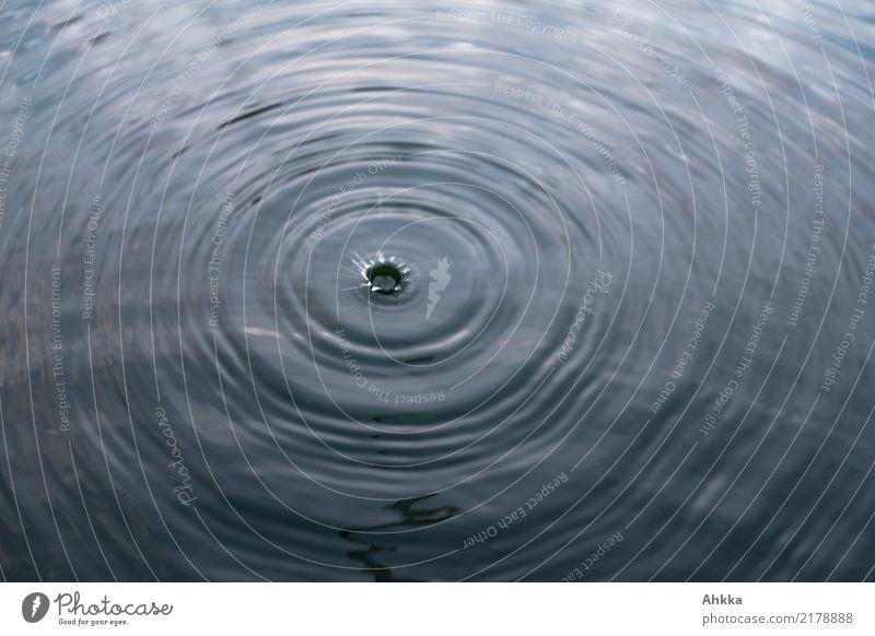 Einschlag Wellness harmonisch Sinnesorgane Erholung ruhig Meditation Spa Urelemente Wasser Wassertropfen kreisrund fallen ästhetisch fantastisch Flüssigkeit