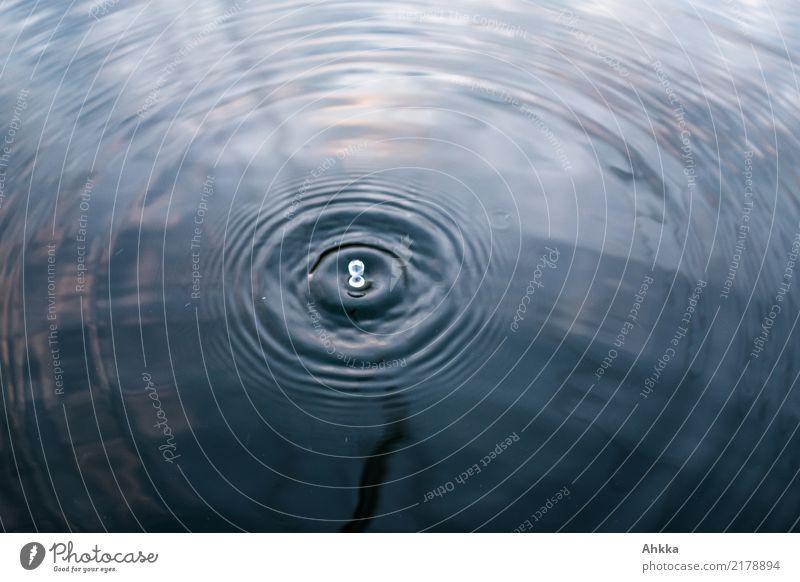 Schwingungen (5) Wellness harmonisch Wohlgefühl Sinnesorgane Erholung ruhig Meditation Spa Energiewirtschaft Urelemente Wasser Wassertropfen Kreis ästhetisch