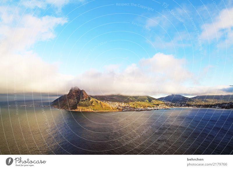 gute aussichten Ferien & Urlaub & Reisen Tourismus Ausflug Abenteuer Ferne Freiheit Natur Landschaft Wasser Himmel Wolken Hügel Berge u. Gebirge Wellen Küste