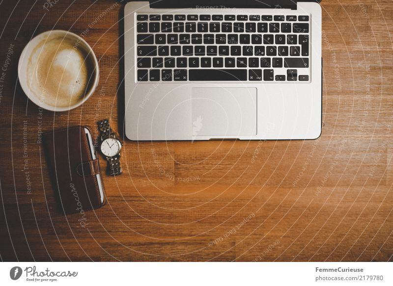 Home_23 Lifestyle Stil Business Design Arbeit & Erwerbstätigkeit Uhr modern Kommunizieren Technik & Technologie Zukunft Internet Handy Tastatur Arbeitsplatz