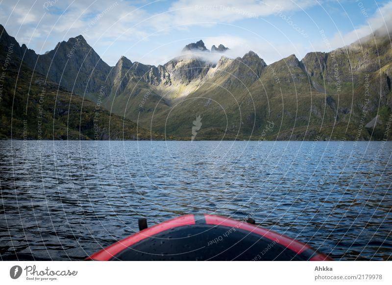 Auf zu neuen Ufern, Paddeln in Skandinavien Ferien & Urlaub & Reisen Ausflug Abenteuer Ferne Freiheit Expedition Sommerurlaub Wassersport Landschaft Urelemente