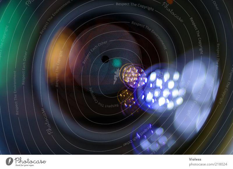 Objektiv betrachtet ;-) schwarz Fotografie Glas Zukunft Fotokamera einzigartig Kunststoff Linse Fortschritt Blende Zoomeffekt High-Tech Teleobjektiv