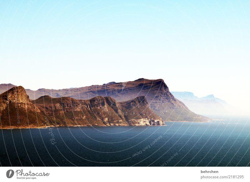spannung | wohin geht die nächste reise? Himmel Ferien & Urlaub & Reisen schön Wasser Landschaft Meer Ferne Berge u. Gebirge Küste außergewöhnlich Tourismus