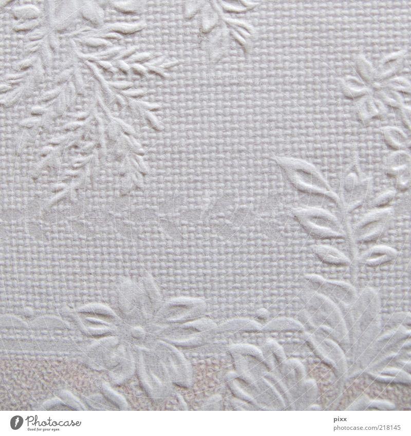 die wand im omiland weiß Wand Stil Mauer rosa authentisch Sauberkeit Tapete historisch Nostalgie harmonisch Oberfläche Ornament Strukturen & Formen Licht Muster