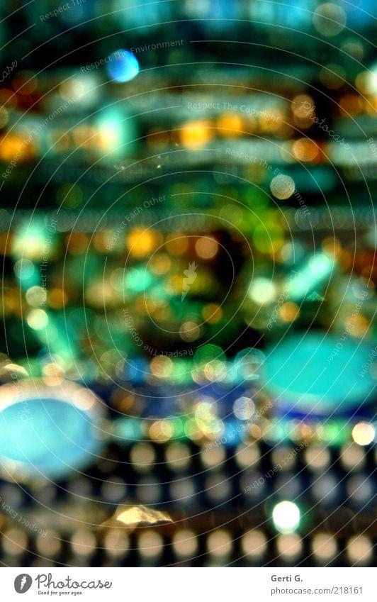 MischMasch Punkt Schmuck Perle chaotisch Mischung durcheinander unordentlich gepunktet