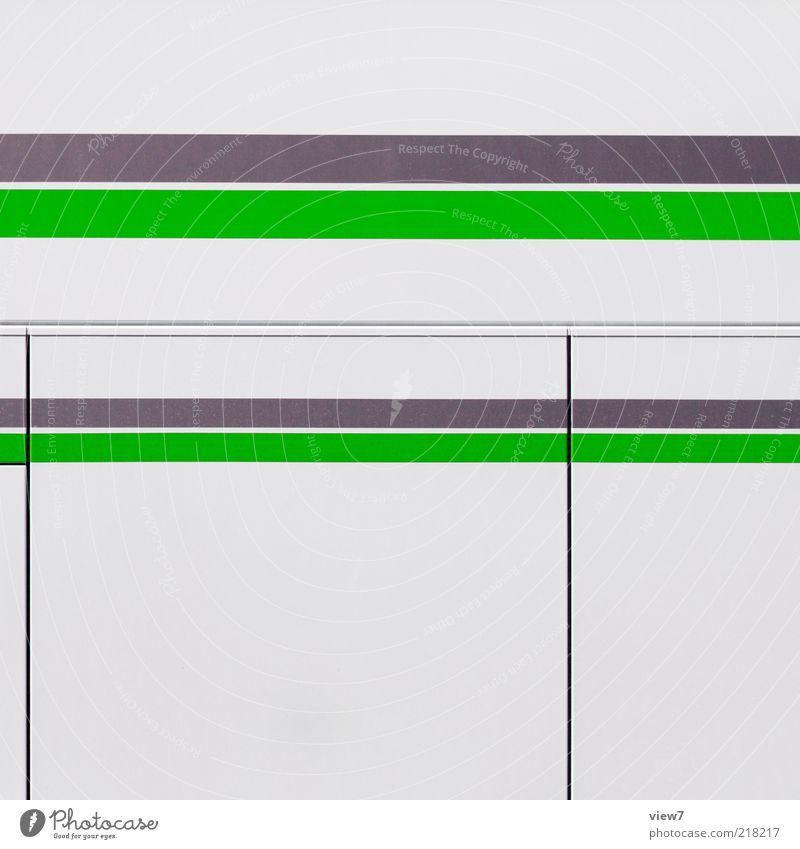 LINE weiß grün grau Linie Metall Design elegant modern Ordnung ästhetisch neu authentisch einfach dünn einzigartig Streifen
