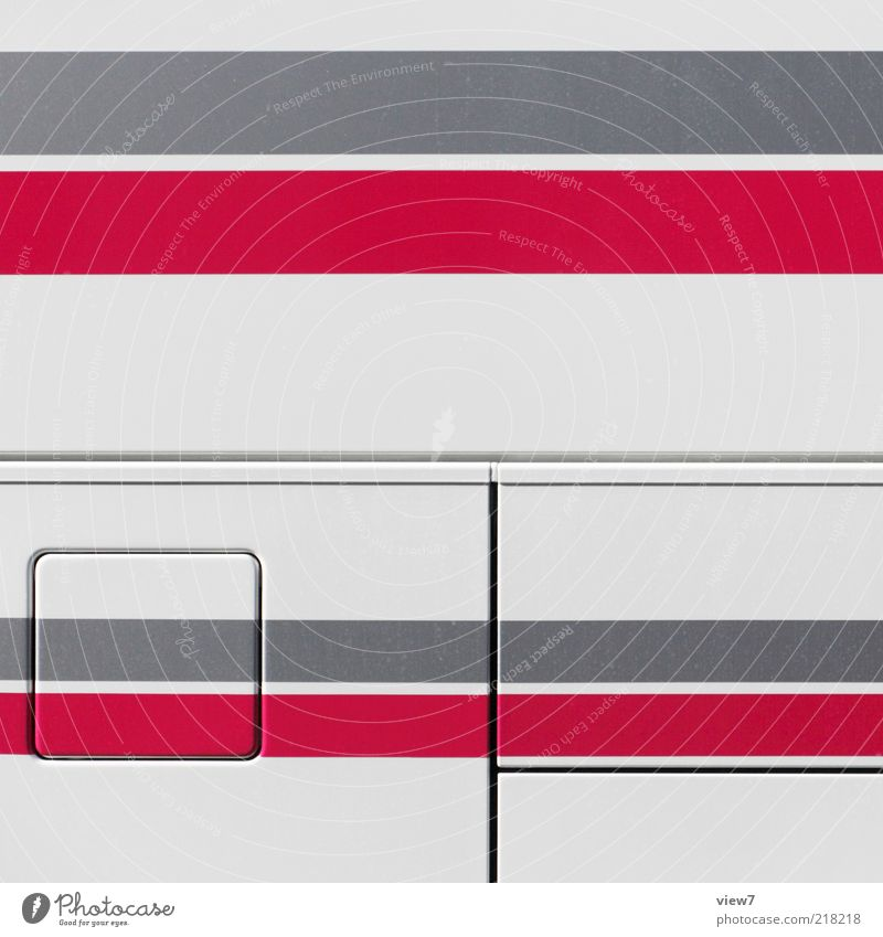 STAR Bus Reisebus Metall Linie Streifen Schnur ästhetisch authentisch dünn eckig einfach frei einzigartig oben Klischee rot Farbe Konkurrenz Ordnung rein