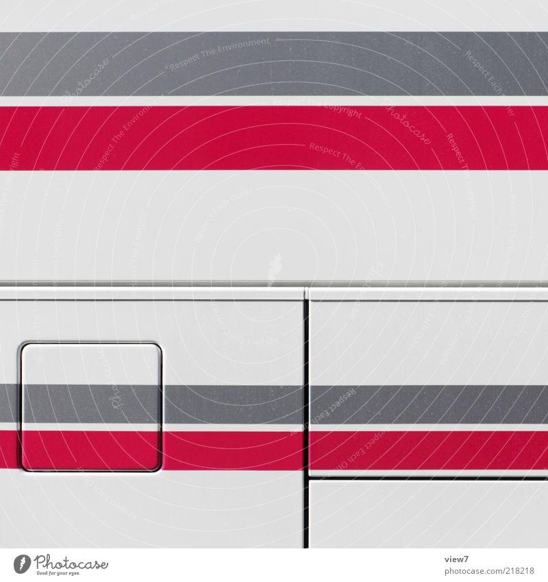 STAR rot Farbe oben grau Metall Linie Ordnung frei ästhetisch authentisch Streifen einzigartig einfach rein Grafik u. Illustration dünn