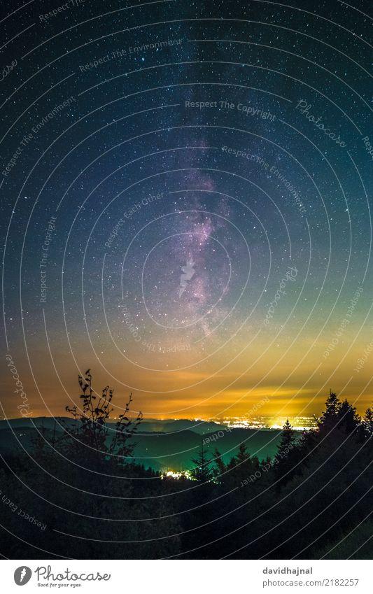 Schwarzwaldhochstraße Ferien & Urlaub & Reisen Tourismus Ausflug Wissenschaften Astronomie Kunst Kunstwerk Umwelt Natur Landschaft Himmel Nachthimmel Stern Baum