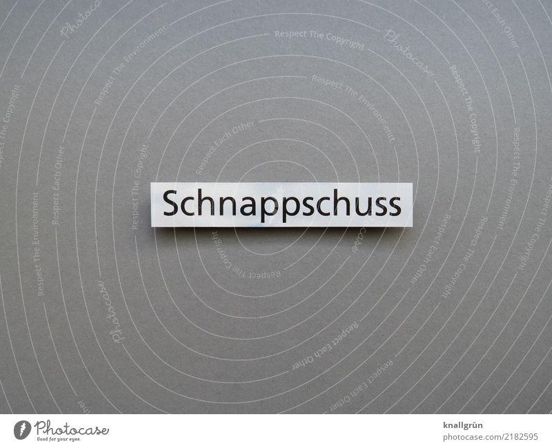 Schnappschuss Schriftzeichen Schilder & Markierungen Kommunizieren eckig grau schwarz weiß Gefühle Freude Momentaufnahme Fotografieren Farbfoto Studioaufnahme
