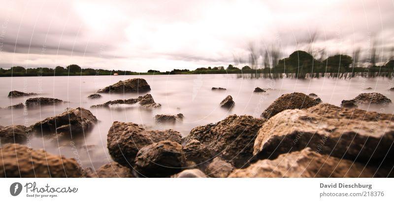 Seepanorama Himmel Natur weiß Sommer Pflanze Winter Wolken schwarz Landschaft Herbst Stein braun Felsen Wellen Wind