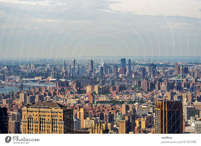 NYC1 New York City Skyline USA Hochhaus Stadt Manhattan Brooklyn Panorama (Aussicht)
