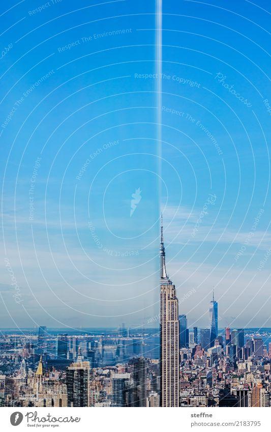 The Empire Strikes Back|09 New York City Coolness Stadt sehenswürdigkeit wahrzeichen empire state building skyline manhattan Textfreiraum oben