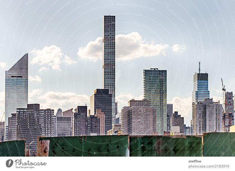 Skyline | Manhattan III Stadt Großstadt Hochhaus überbevölkert Häusliches Leben Wahrzeichen New York City USA park avenue
