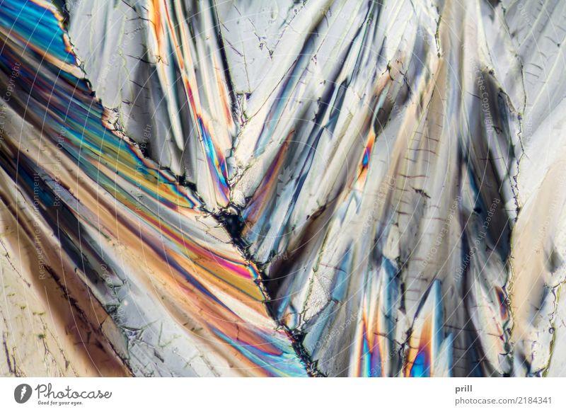 colorful sugar micro crystals Wissenschaften Natur außergewöhnlich Zucker mikro kristall Kohlenhydrate Mineralien mikrokristall Kristallstrukturen