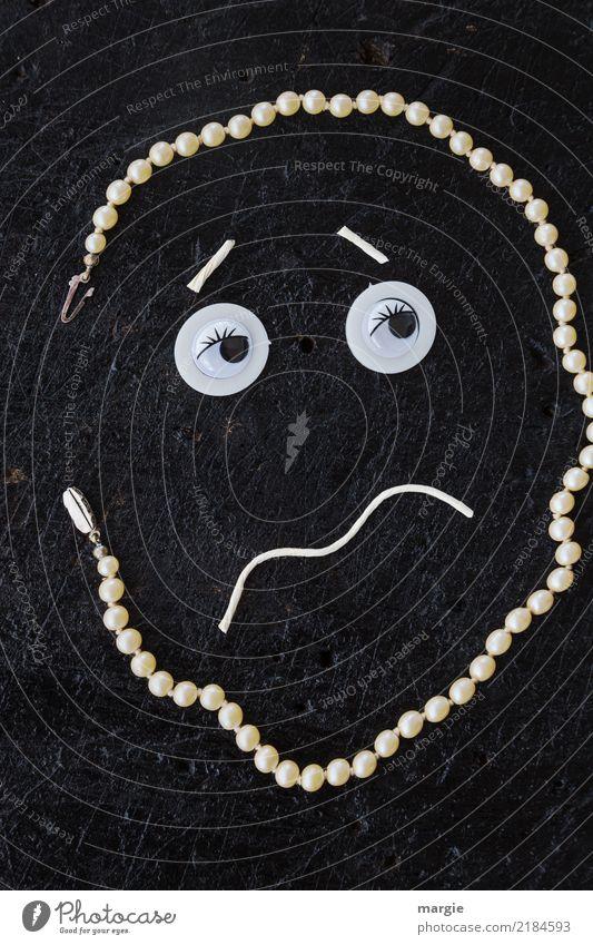 Emotionen...coole Gesichter: Phlegmatiker Mensch maskulin androgyn Mann Erwachsene Auge Mund 1 braun weiß Angst Zukunftsangst Trägheit Schlafzimmerblick zittern