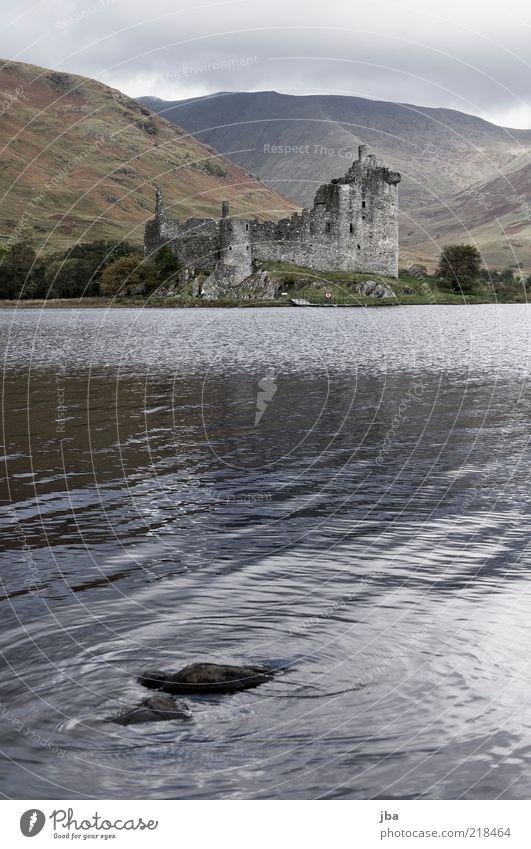 ... wirklich vorbei! Natur Wasser alt Ferien & Urlaub & Reisen Wolken Ferne dunkel Herbst Freiheit grau Regen Wellen Ausflug authentisch Reisefotografie