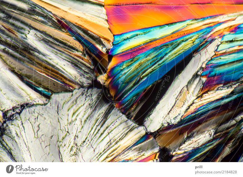 colorful Sucrose micro crystals Wissenschaften Natur außergewöhnlich Zucker saccharose mikro kristall Kohlenhydrate Mineralien mikrokristall Kristallstrukturen