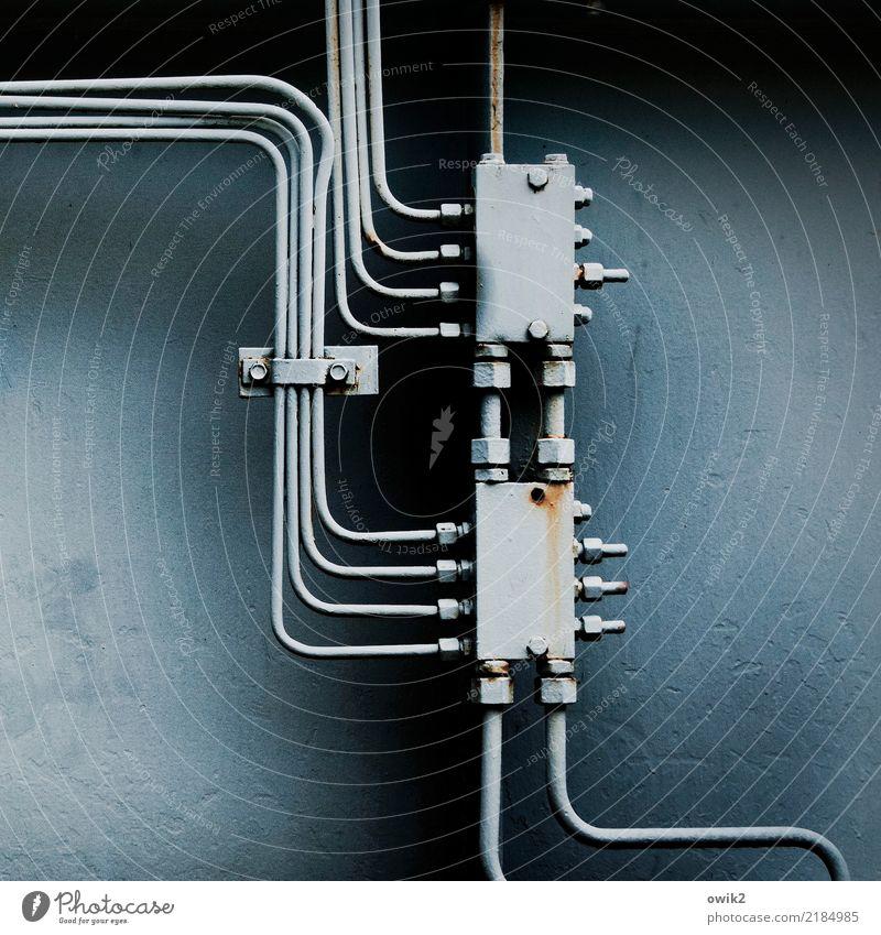 Kontaktbörse Maschine Technik & Technologie Draht Verbindung Verbindungstechnik Metall Kunststoff dünn klein nah viele verrückt Verlässlichkeit gewissenhaft