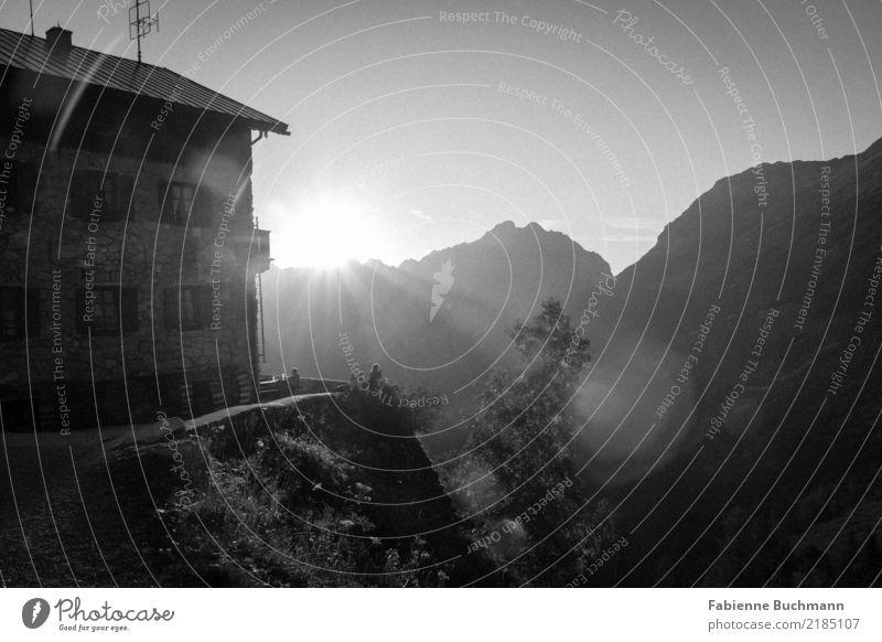 Hüttenzauber II Natur Ferien & Urlaub & Reisen Pflanze Sommer Sonne Baum Berge u. Gebirge Essen Umwelt Sport Tourismus Ausflug wandern genießen Abenteuer