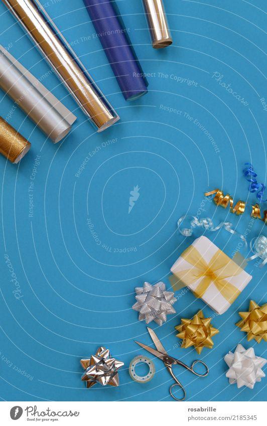Weihnachtsgeschenke einpacken Reichtum Freude Party Feste & Feiern Weihnachten & Advent Geburtstag Geschenk Geschenkpapier Geschenkband schenken