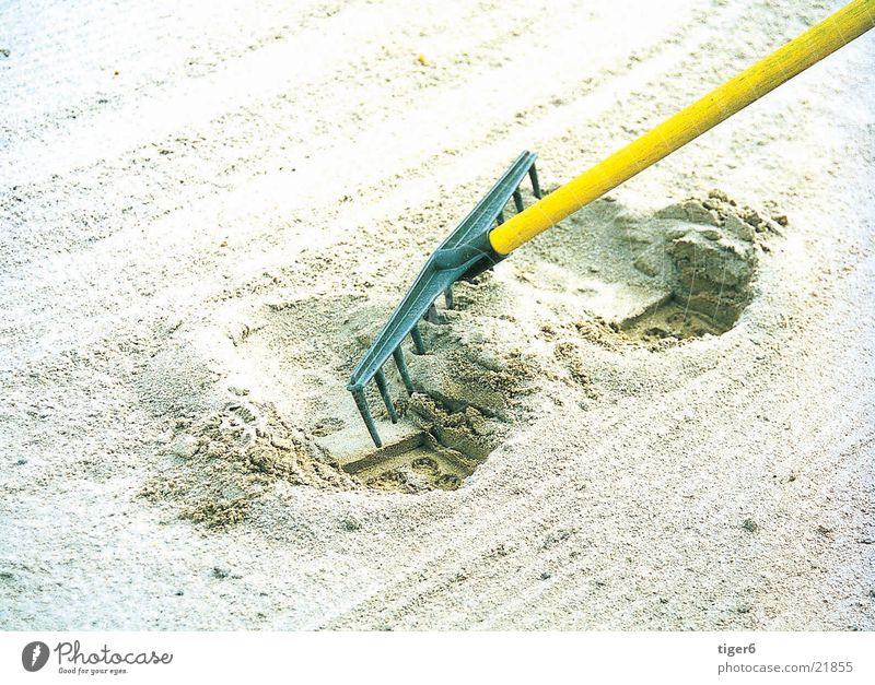 Bitte ausbessern Rechen Sand Bunker Golf