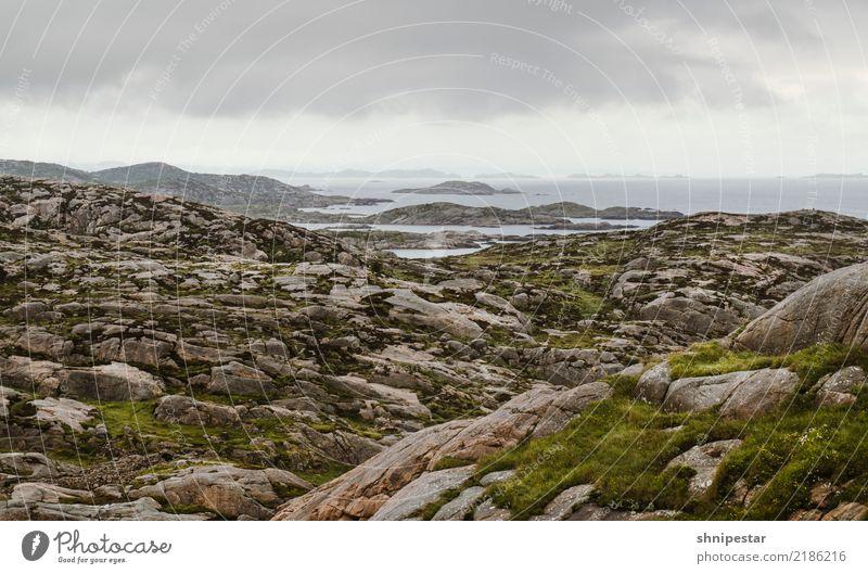 Lindesnes, Norwegen Ferien & Urlaub & Reisen Tourismus Ausflug Abenteuer Ferne Freiheit Kreuzfahrt Expedition Meer Insel Wellen wandern Umwelt Natur Landschaft