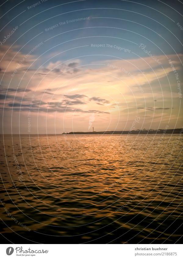 mi playa Landschaft Wasser Himmel Horizont Herbst Strand Bucht Meer Insel ästhetisch Vertrauen Sicherheit Geborgenheit Romantik Einsamkeit genießen Gesundheit