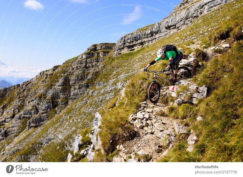 Sonniger Herbstbeginn im Karwendel Freude Freizeit & Hobby Ferien & Urlaub & Reisen Tourismus Abenteuer Berge u. Gebirge wandern Sport Fitness Sport-Training