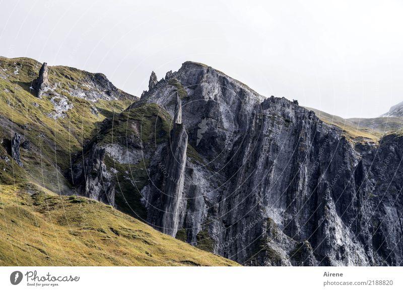 Spitze.Steine Ferien & Urlaub & Reisen Berge u. Gebirge wandern Landschaft Felsen Alpen Lechtal Gipfel Bundesland Vorarlberg Bundesland Tirol bedrohlich