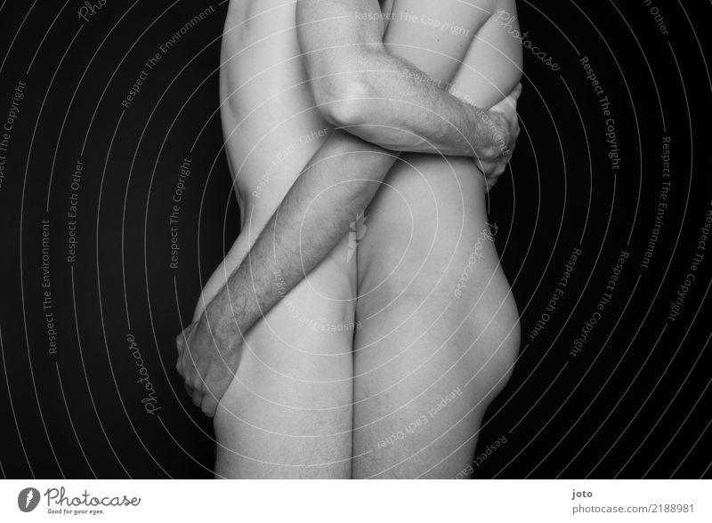 festhalten maskulin Homosexualität Junger Mann Jugendliche Erwachsene Paar Partner Gesäß berühren Liebe Umarmen Erotik Zusammensein Leidenschaft Akzeptanz